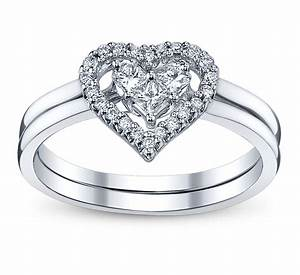 4 perfect heart bow diamond engagement rings for the With images of diamond wedding rings