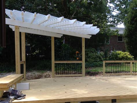 decks with pergolas custom pergola designs custom decks porches patios sunrooms and more