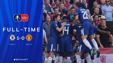 video chelsea   manchester united fa cup