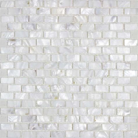 of pearl mosaic tiles subway pearl shell tile