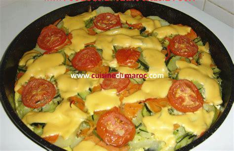 cuisine de sousou gratin de légumes au fromage