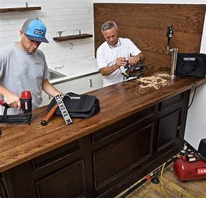 How To Build A Home Bar  A Step
