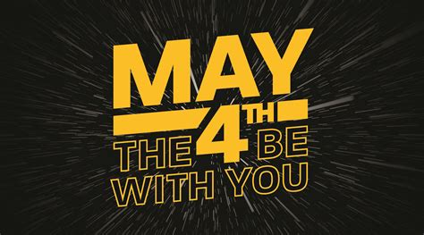 May the 4th Be With You - The City Library