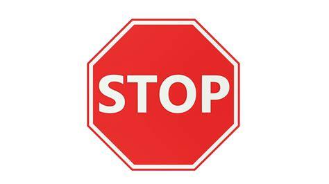 red stop sign appears  zoom inekxrjoz ef fbinsure