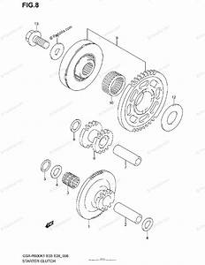 Suzuki Motorcycle 2002 Oem Parts Diagram For Starter