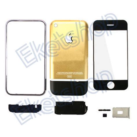 original metal iphone 2g 8gb back cover housing us gold 2g iphone housing for 8gb iphone