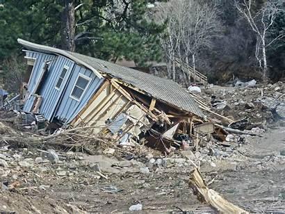 Debris Flows Mud Colorado Geological