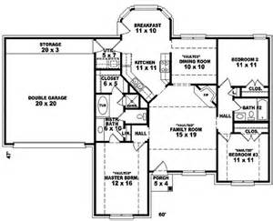 open floor plans one story suffolk place ranch home plan 087d 0074 house plans and more