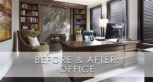 Hamptons, Inspired, Luxury, Office, Before, And, After