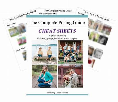 Posing Guide Cheat Sheet Guides Complete