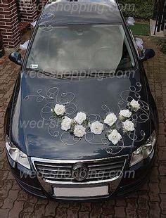 voiture mariage d 233 coration roses rouges et le coeur mariage en et noir