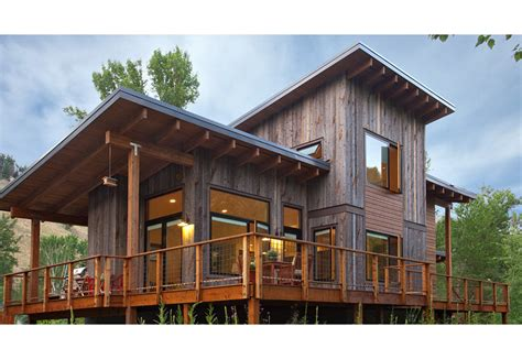 shed roof homes williams partners architects board ranch residence in ketchum idaho