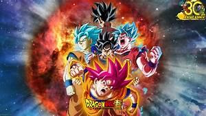 Goku's Super Saiyan Divinity Evolution Wallpaper by ...
