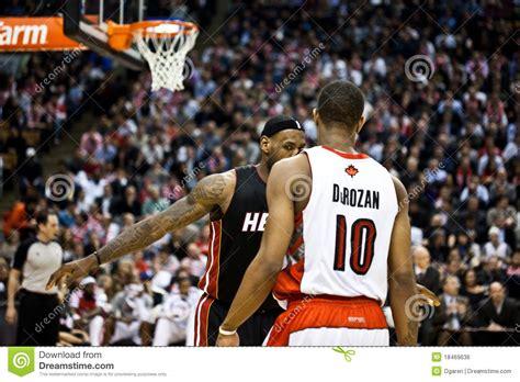 Miami Heat Vs Toronto Raptors Editorial Photo Image
