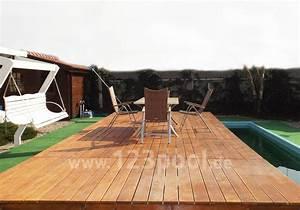 Mobile Terrasse Pool : poolabdeckungen 123swimmingpool swimmingpool selbst bauen der blog ~ Sanjose-hotels-ca.com Haus und Dekorationen
