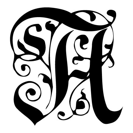 baroque monogram wall quotes decal wallquotescom
