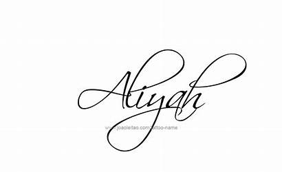 Aliyah Aniyah Tattoo Amiyah Designs Female Joaoleitao