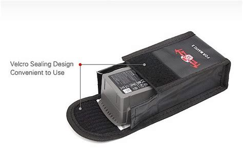 dji mavic  custom lipo safety battery bag