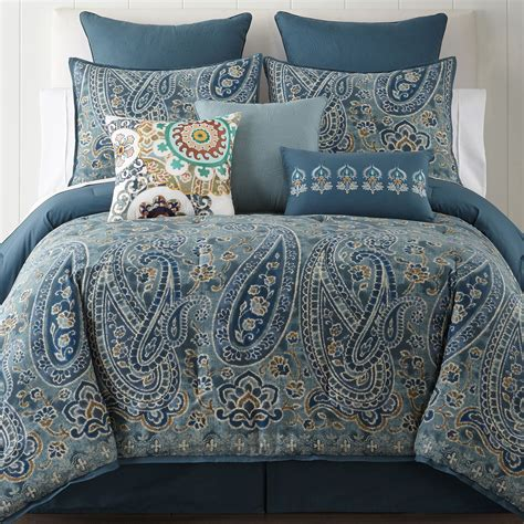 jc penneys bedding cheap jcpenney home belcourt 4 pc comforter set now