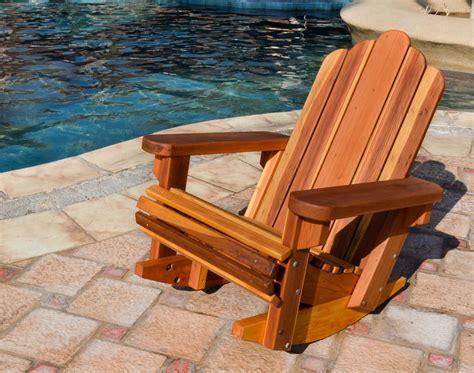 adirondack rocking chair adirondack chairs forever redwood