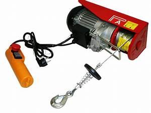 Palan Electrique 220v : treuil palan electrique levage a cable 220v 300 600kg ~ Edinachiropracticcenter.com Idées de Décoration