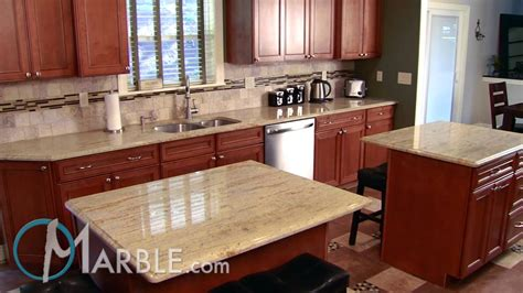 kitchen with 2 islands ivory gold granite kitchen countertops marble com