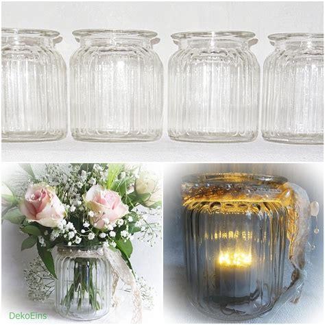 Deko Vasen Glas 12 X Dekovasen H 9 5 Cm Tischdekoration Tischvase Vase Deko Windlicht Vasen Glas Dekoeins