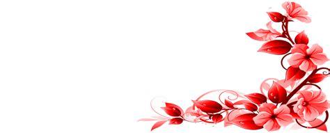 tren  bingkai bunga sudut