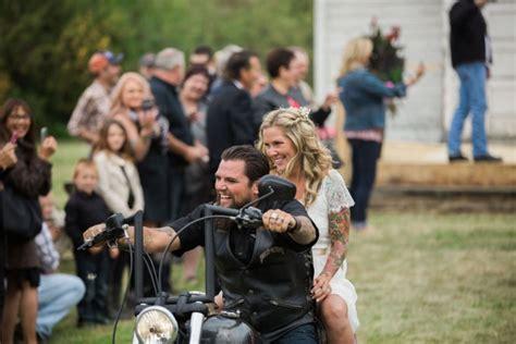 Alberta Biker Wedding · Rock N Roll Bride