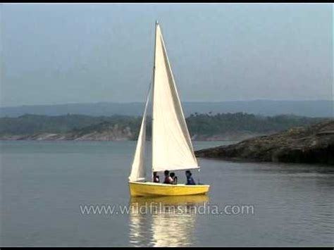 Sailboat Small by Sailing On A Small Sailboat In India Youtube
