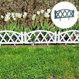 Bordure De Jardin : bordure de jardin croisillon en pvc lot de 4 outils ~ Melissatoandfro.com Idées de Décoration