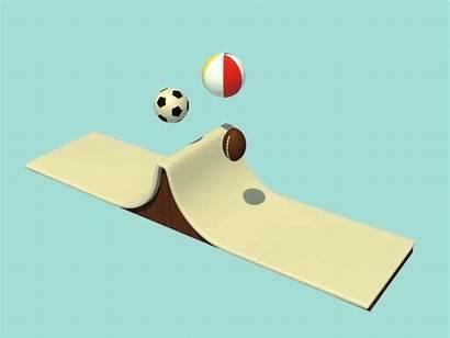 Physics Balls Interactive Dribbble Cel