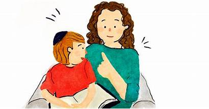 Mother Jewish Children Mothers Chabad Learn Short
