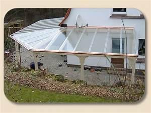 Terrassen berdachung aus holz glas nach ma von for Terrassenüberdachung aus holz und glas