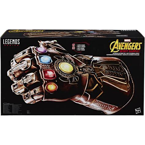 hasbro avengers infinity war marvel legends replica thanos