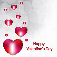 Happy Valentines Day New Backgrond Stock Vector  Illustration Of Wallpaper, Hearts 36291944