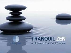 tranquil zen a animated powerpoint template from With presentation zen powerpoint templates