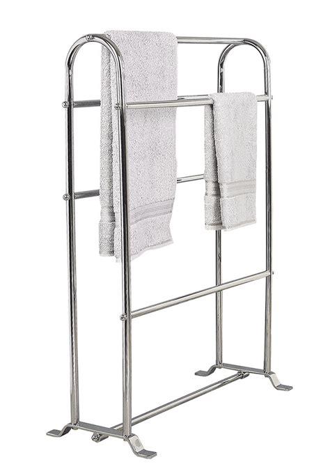 free standing towel rack stylish free standing towel racks for outstanding bathroom