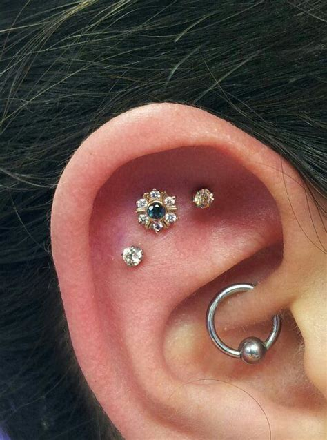 flat  flower  daith pronounced doth piercing