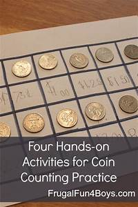 Four Activities for Coin Counting Practice