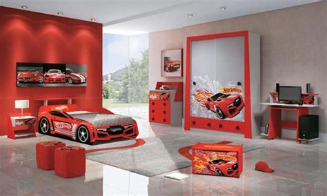 Cool Car Themed Boy Rooms