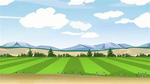 Car Driving By Countryside View Cartoon Animation Stock ...