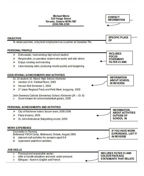 Create your new resume in 5 minutes. Example Of Resume To Apply Job Pdf