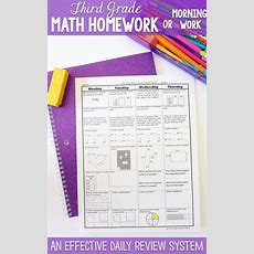 13 Best Images About Homework On Pinterest  3rd Grade Math, Pacing Guide And Spirals