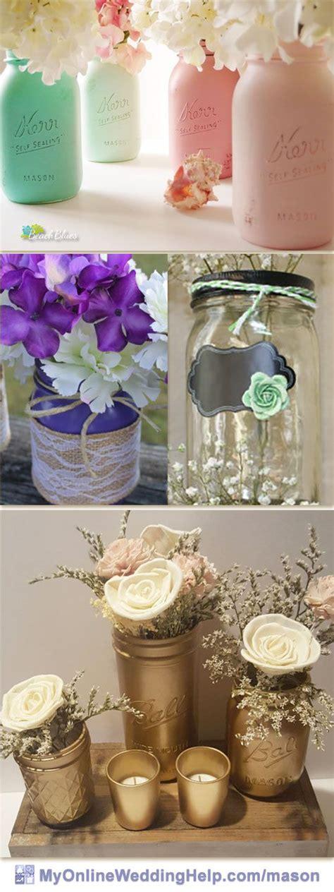 381 best Mason Jar Wedding images on Pinterest