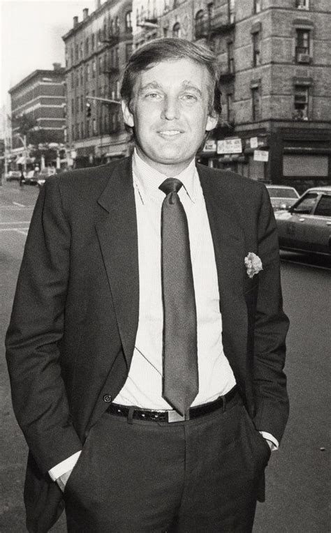 trump donald hair 1984 evolution king trumps tie politics he