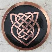 The shield Celtic knot...