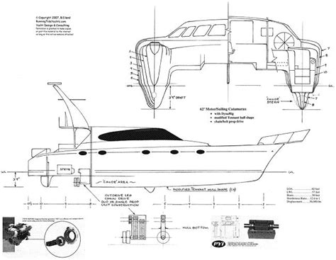 Parts Of A Catamaran Boat by 55 180 Power Catamaran Yachtforums The World S Largest