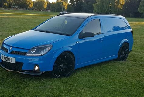 Vauxhall Astra Vxr Van Modified Fast Showcar In Newport