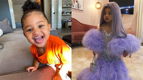How cute is little stormi in her puffer coat? Inside Stormi Webster's Fashionable, Lavish Lifestyle | Grazia